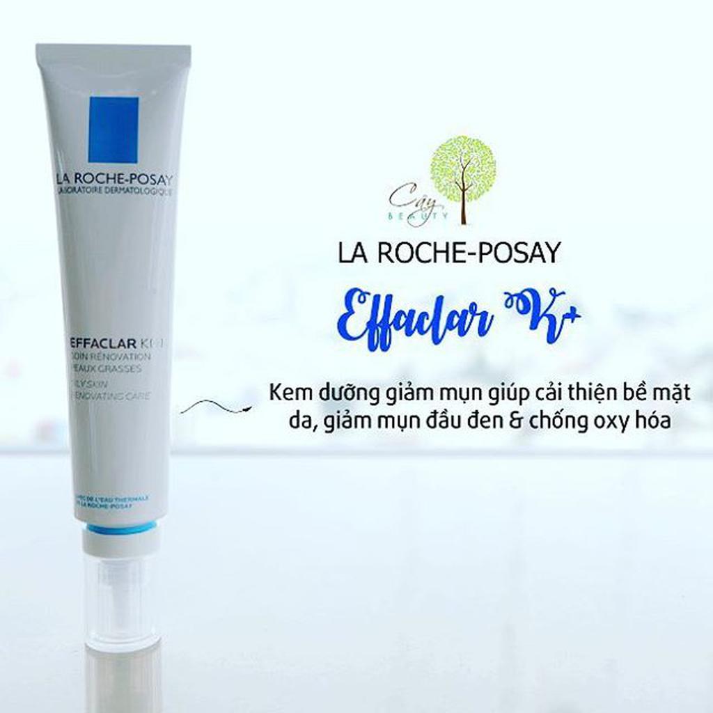 Kem trị mụn cho da dầu La Roche-Posay Effaclar K+ 30ml