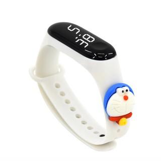 Đồng hồ điện tử S001 dây silicone chống nước dành cho bé siêu cute
