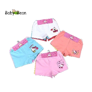 Set Quần Chíp Đùi 3 chiếc bé gái BabyBean (3 Màu Khác Nhau)