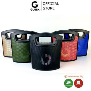 Loa bluetooth mini Gutek MMS-40 nghe nhạc siêu bass, cầm tay cứng cáp