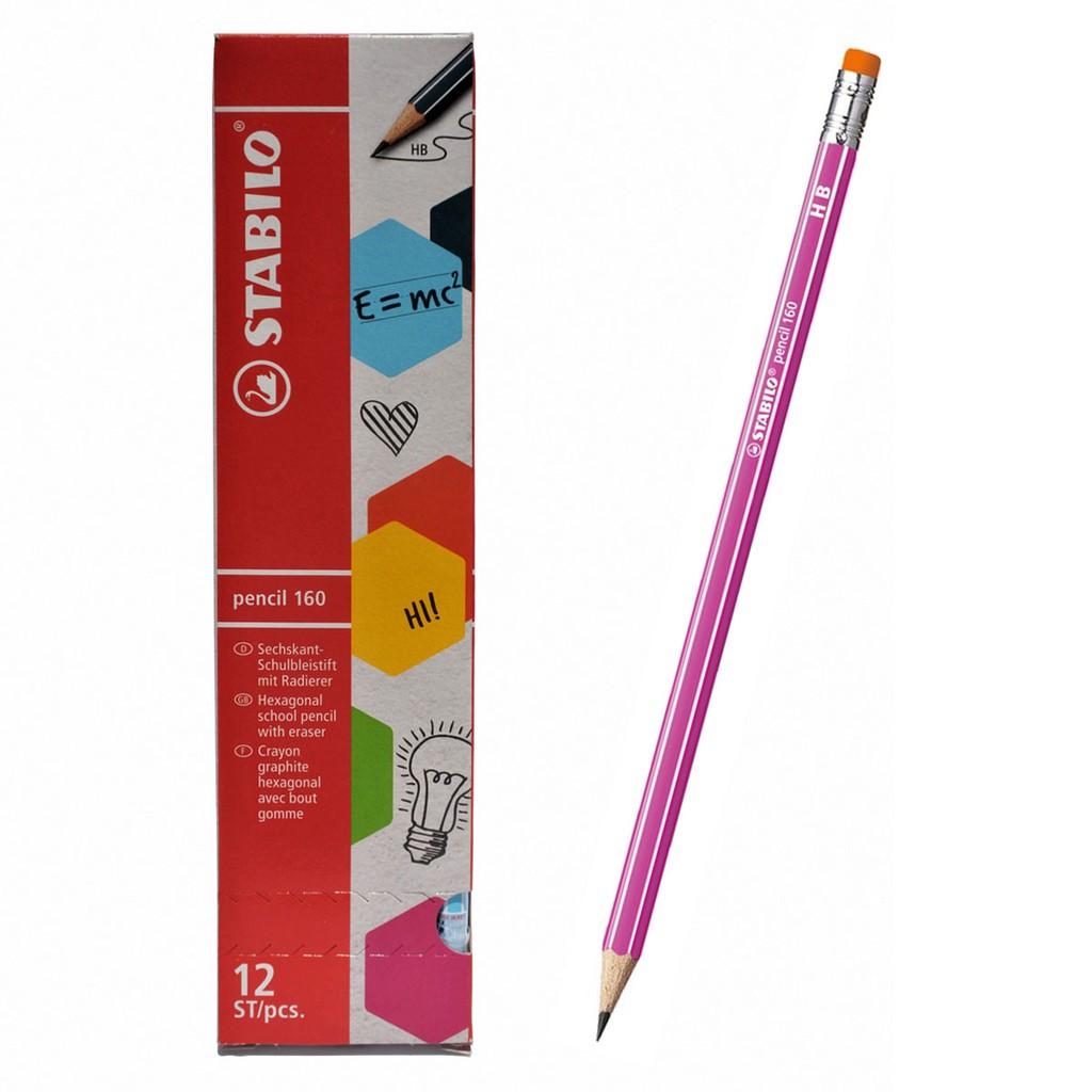 Hộp 12 cây bút chì gỗ STABILO pencil PC2160P/12-HB (hồng) - 3184946 , 272185328 , 322_272185328 , 172000 , Hop-12-cay-but-chi-go-STABILO-pencil-PC2160P-12-HB-hong-322_272185328 , shopee.vn , Hộp 12 cây bút chì gỗ STABILO pencil PC2160P/12-HB (hồng)