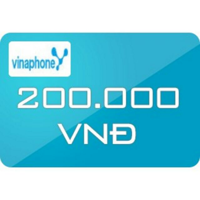 Nạp tiền Vinaphone 200k siêu rẻ
