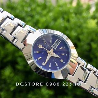 Đồng hồ cặp đôi nam nữ chính hãng FNGEEN, dây thép 316L chống rỉ, mặt kính mài vát hình viên kim cương thumbnail