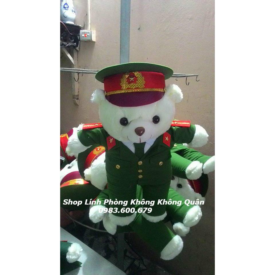 Gấu Bông Công An - Cảnh Sát 55 cm