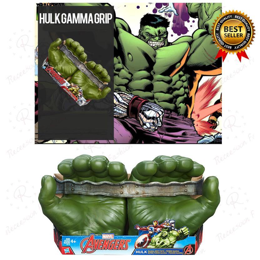 Găng tay cosplay Marvel Avengers Hulk gamma Grip fists thumbnail
