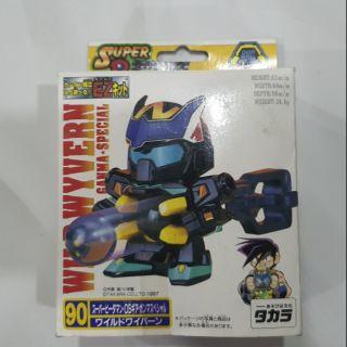 Robot Bắn Bi Wild Wyvern (Phi Long Uy Dũng), chính hãng Takara Nhật Bản sản xuất, Full Hộp mới 100% .Chỉ còn 1 hộp