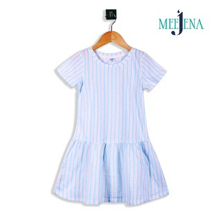Đầm bé gái tay ngắn thun hoa 14-26 kg - MEEJENA - 1571