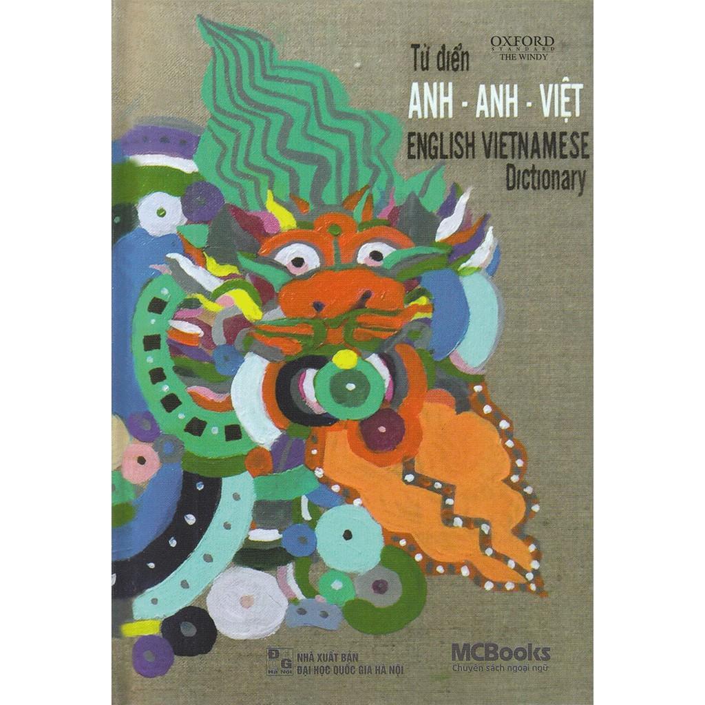 Từ Điển Anh Việt (Bìa Rồng Tri Thức)