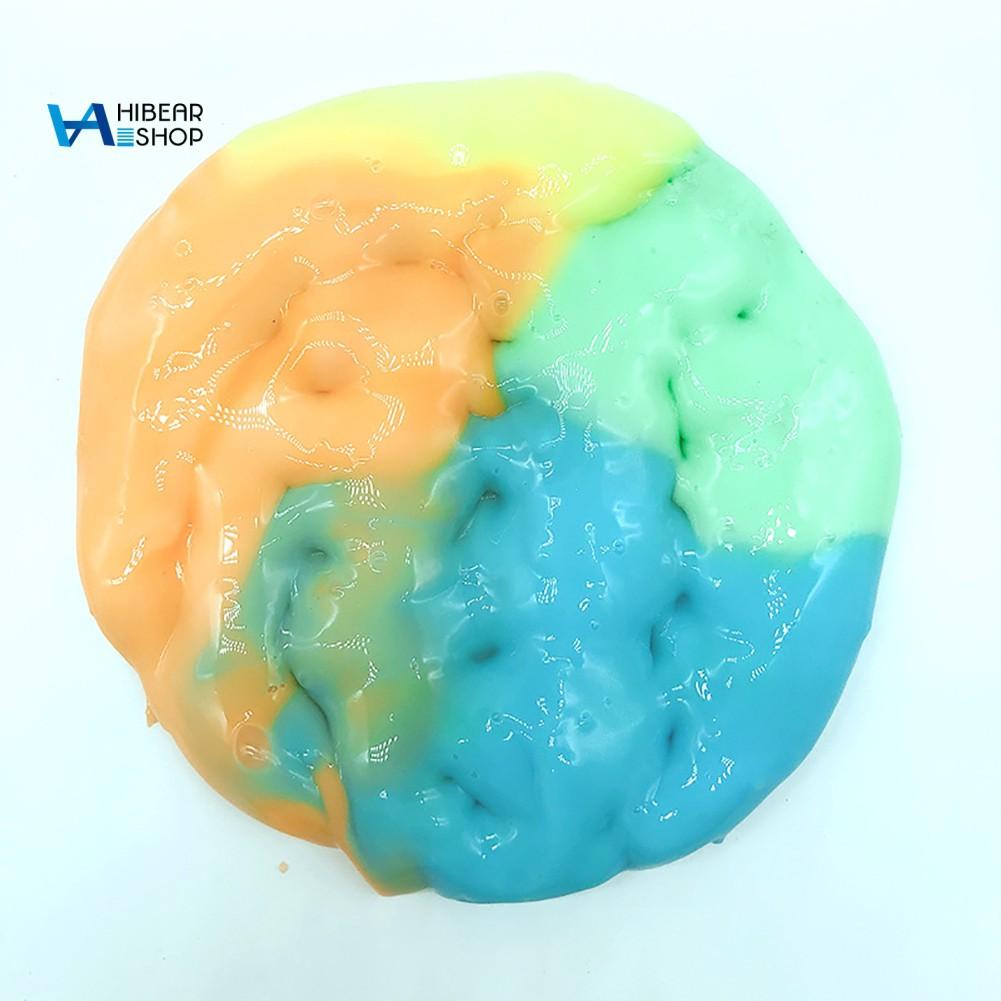 Slime Dẻo Ma Thuật Trộn Hạt Nhiều Màu Sắc Vui Nhộn Cho Bé