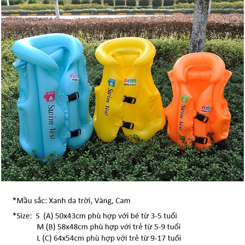 Áo phao bơi Swim Vest cao cấp cho bé - 2952822 , 1057207937 , 322_1057207937 , 79000 , Ao-phao-boi-Swim-Vest-cao-cap-cho-be-322_1057207937 , shopee.vn , Áo phao bơi Swim Vest cao cấp cho bé