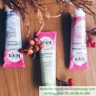 Kem tẩy lông Veet cao cấp sạch ngay 1 lần tẩy, da mịn màng k tỳ vết, k đau rát, dưỡng da trắng [ cam kết - 100% - Pháp] thumbnail
