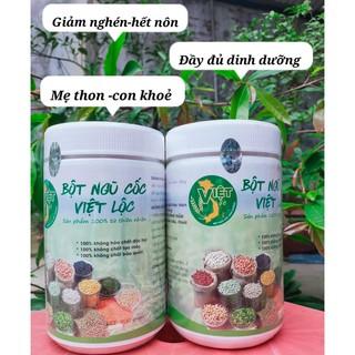 Combo 1kg ngũ cốc Việt Lộc☘Freeship☘️(1kg=2 hộp)🧡Lợi sữa