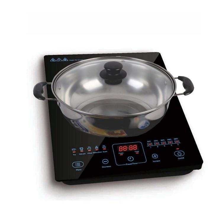 Bếp điện từ Philips HD4911 - Hàng phân phối chính hãng ( bảo hành chính hãng 24 tháng )