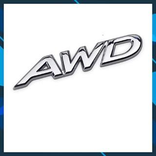 FREE SHIP 50K Logo kim loại AWD 2 kiểu cho xe mazda thumbnail