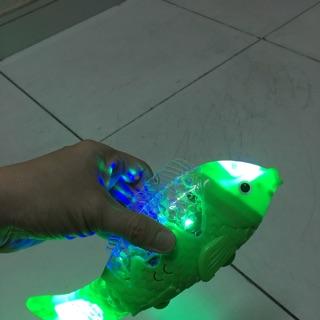 Lồng đèn cá chép chạy pin