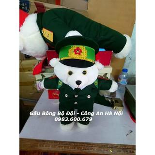 Gấu Bông Bộ Đội Biên Phòng 40 cm