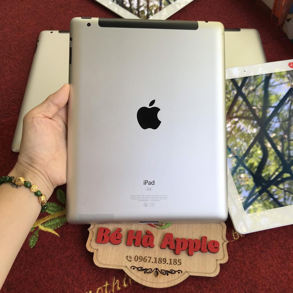 Máy Tính Bảng iPad 2 - 16G/ 32G/ 64Gb  (Wifi + 3G) - Zin Đẹp 99% - Tặng đầy đủ phụ kiện - Màn 9.7 inch - Ram 512Mb / A5