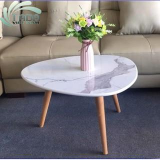 Bàn Oval mặt đá cho phòng khách, quán cafe và ban công sang trọng thương hiệu TADA. thumbnail