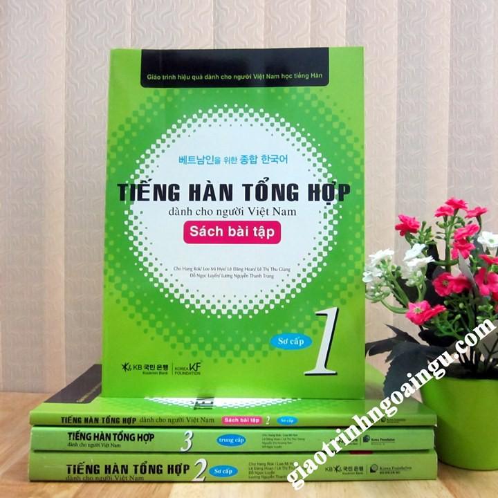 Sách Tiếng Hàn tổng hợp Sơ cấp 1 Sách bài tập