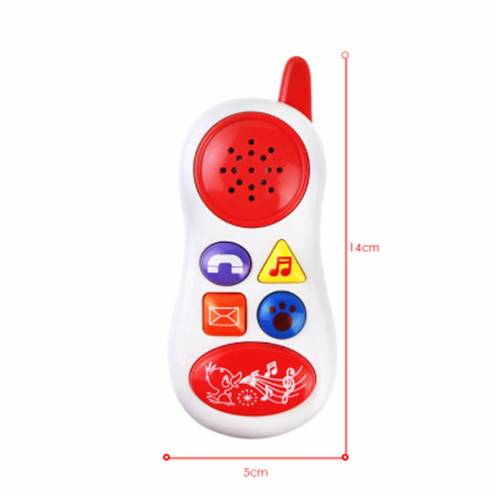 Baby Toys With Sound And Light / Learning Study Cell Phone Toy Child Music Educational