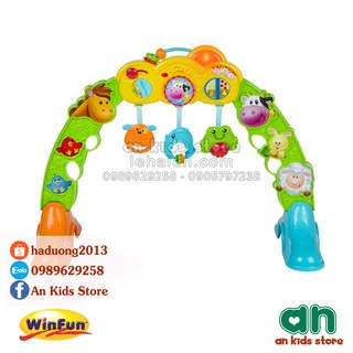 Kệ chữ A đa năng 3 in 1 hình động vật Winfun 0853NL – Hàng chính hãng