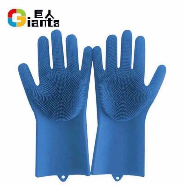 Đôi găng tay gai rửa chén