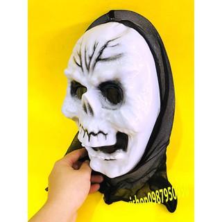 đồ chơi hóa trang mặt nạ quỷ thần chết scream mã IKT74 Z2W