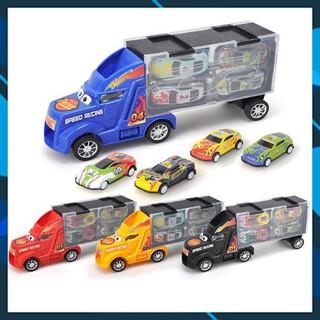 💖FREESHIP💖 🚛 Bộ đồ chơi gara ô tô di động 4 in 1 cho bé➖ multicolor 206700