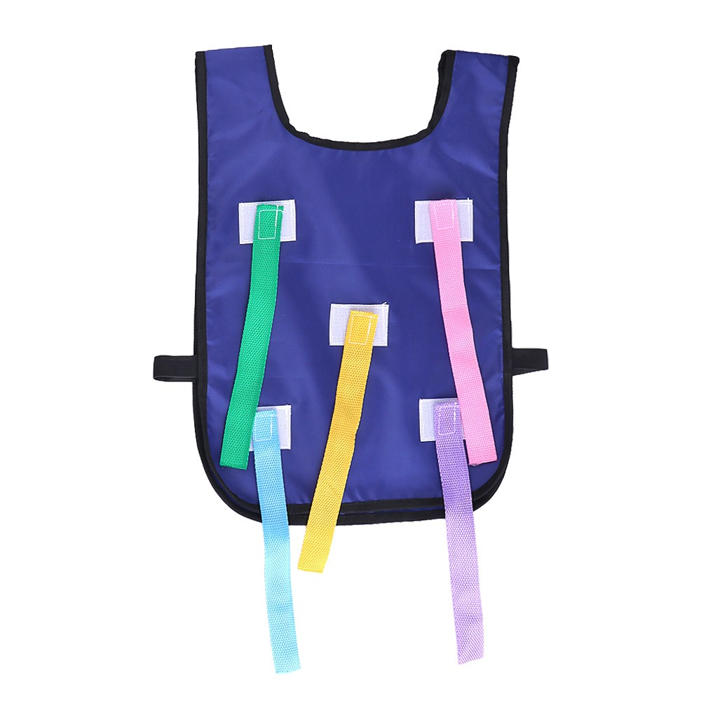Kindergarten 揪 tail catching tail toy props children's vest belt outdoor body intelligent sense training equipment