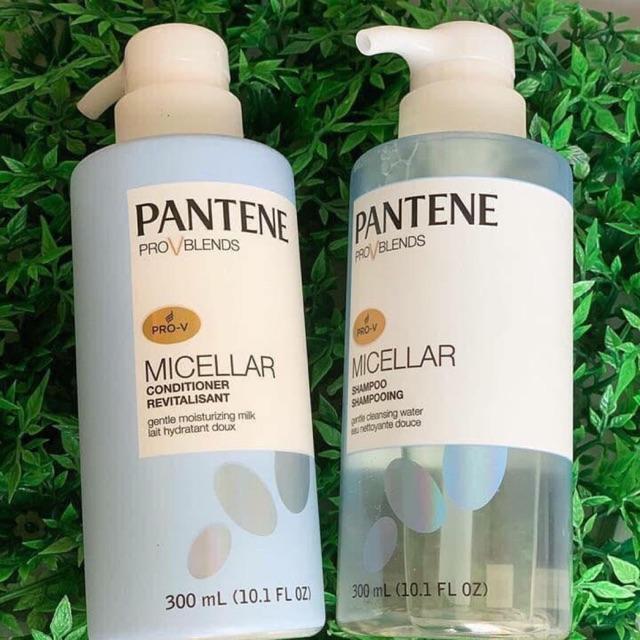 Set gội -Xã Pantene Pro-V Blends Micellar Shampoo 300 ml