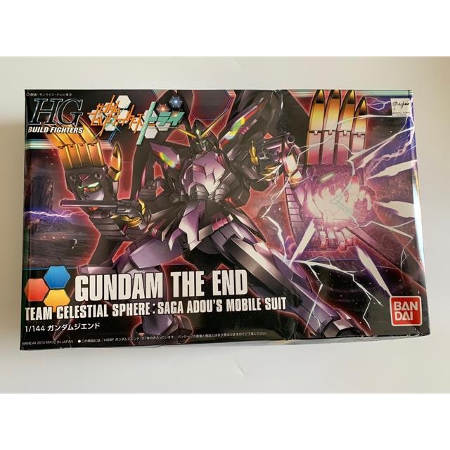 Mô hình Gundam HGBF 1/144 Gundam The End!