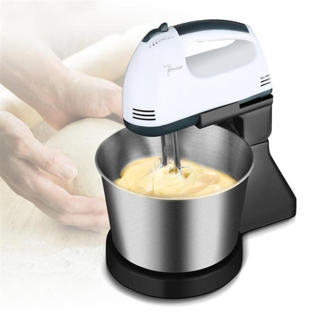 Rice Cooker เครื่องผสมแป้ง ที่ผสมอาหาร ( พร้อม โถสแตนเลส ผสมอาหาร ขนาด 1.7 ลิตร ) ที่ตีแป้งไฟฟ้า ที่ตีแป้ง เครื่องผสมอาห