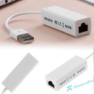 Bộ Chuyển Đổi Usb 2.0 Sang Rj45 Lan Ethernet 10/100mbps Win7 Cho Máy Tính