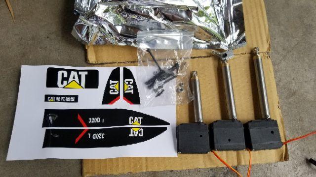 Trục vít xoắn dùng để nâng cấp máy xúc