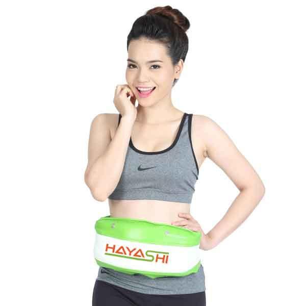 Đai massage bụng HAYASHI chính hãng bảo hành 12 tháng