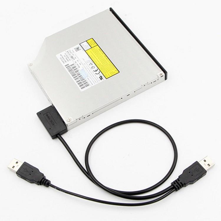 Dây chuyển cổng slimline SATA 7+6 sang cổng USB 2.0