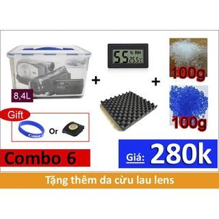 hộp chống ẩm máy ảnh dung tích 8400ml hàng thái lan thumbnail