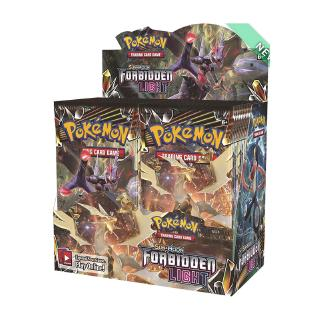 Forbidden Light Booster Box Sealed 36 Booster Packs POKEMON TCG Sun & Moon