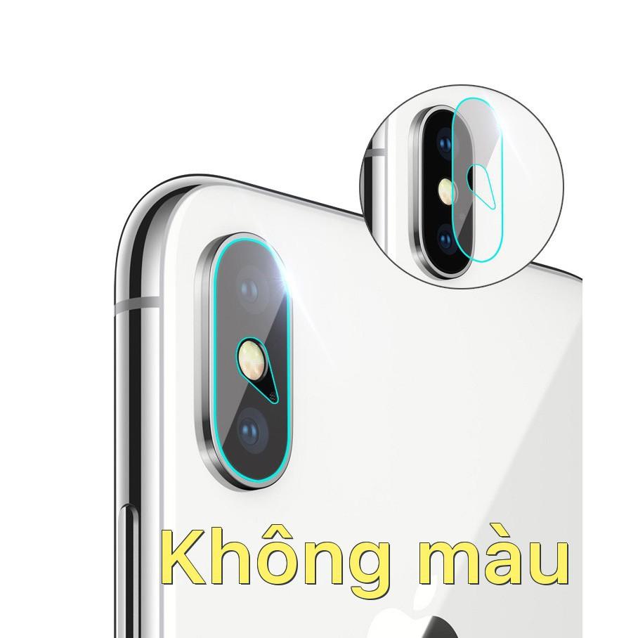 Dán cường lực bảo vệ camera cho iPhone X