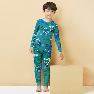 Đồ bộ cotton thu đông 2020 cho bé trai 1-9 tuổi Unifriend Hàn Quốc Uni0789