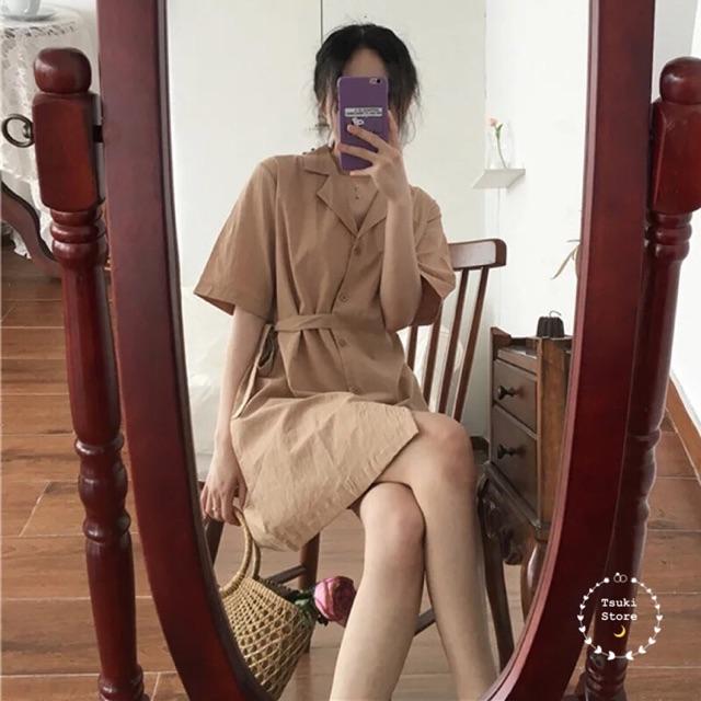 [ORDER] Váy thắt đai eo ulzzang ??