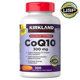 Viên uống Bổ tim COQ10 300mg Kirkland 100 viên của Mỹ
