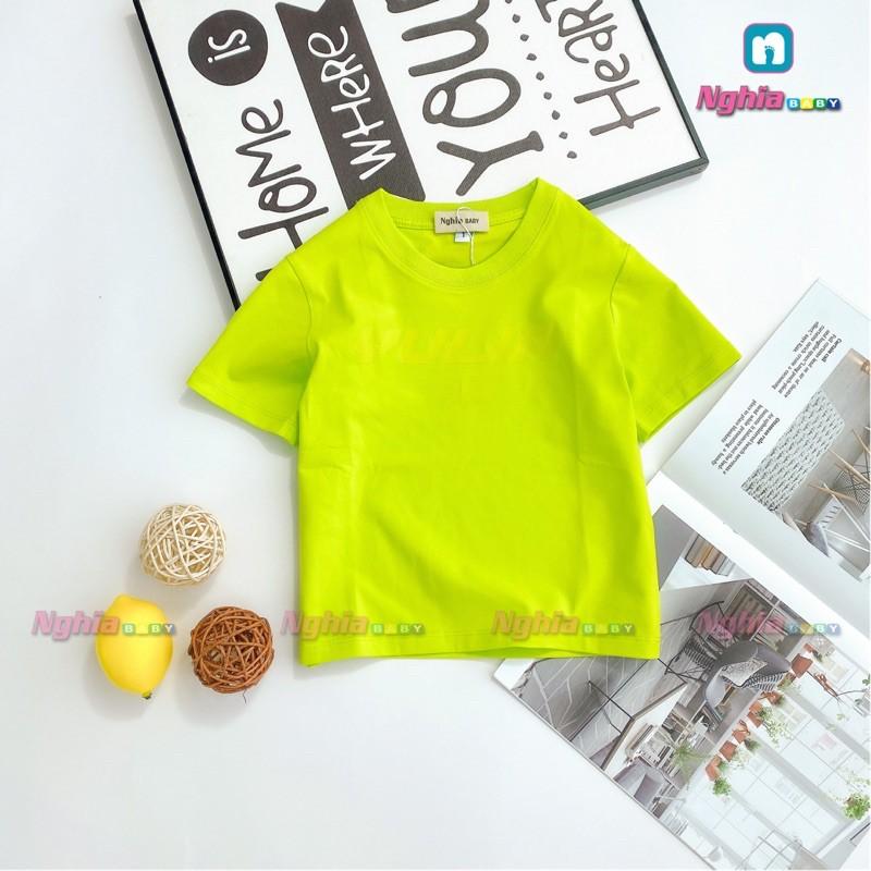 Áo thun cotton NGHĨA BABY AT21 dành cho bé trai bé gái