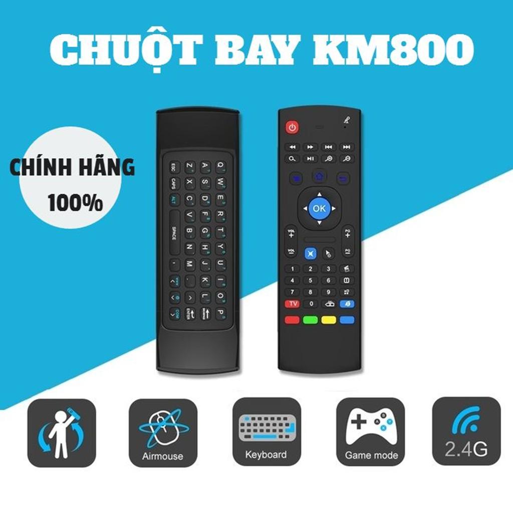 CHÍNH HÃNG] Bàn phím chuột bay KM800 | Bàn phím không dây MX3 | AIR MOUSE KM800