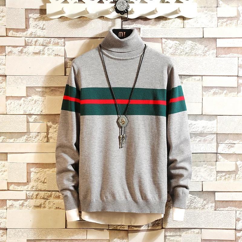 Áo Sweater Cổ Dài Tay Thời Trang Dành Cho Nam