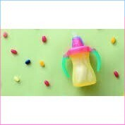 (Hàng Siêu Sốc)Hàng lọc Bình uống nước ống hút size nhỏ Straw Bottle nội địa Nhật Pigeon