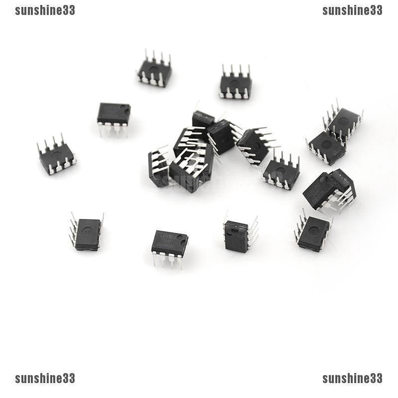 20 chiếc IC JRC4558D 4558D DIP8 OP AMP DIP8