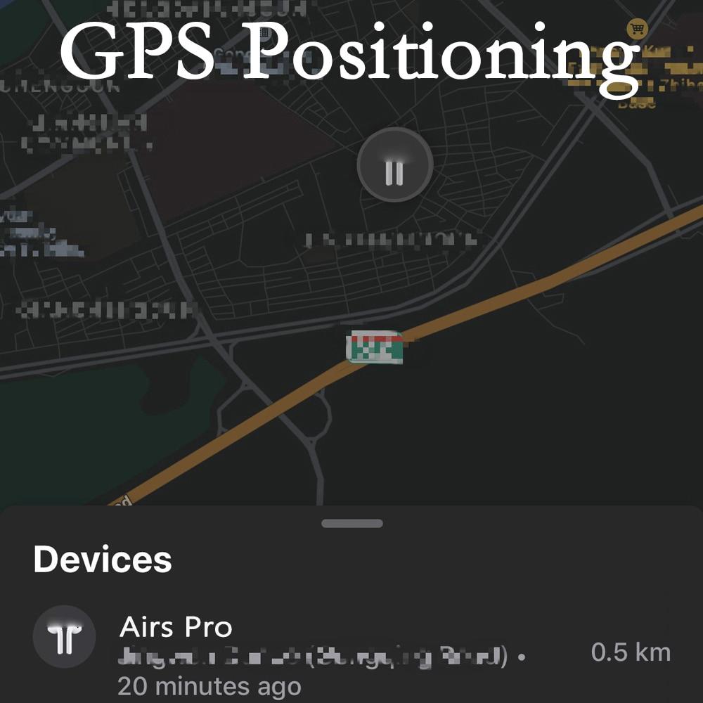 Bộ tai nghe không dây bluetooth AIRS PRO 3 TWS mini 1:1 kèm phụ kiện