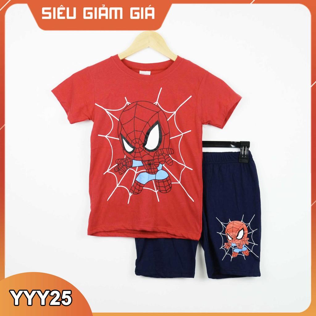[ cotton 100% ] Bộ quần áo in hình thú Sorakids cho bé trai  2-10 tuổi Bộ quần áo trẻ em chất  Size từ 9-40 kg B