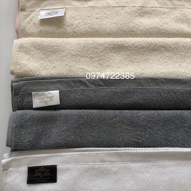 Khăn cỡ trung cotton không phai màu xuất Hàn